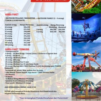 PAKET TOUR DUFAN 2021